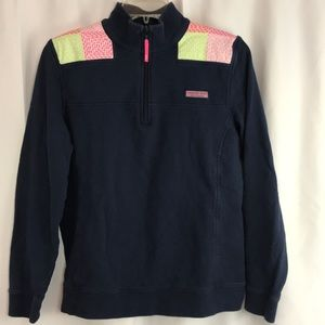 Vineyard Vines szS Navy/whale shep sweatshirt